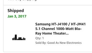 Samsung brand new surround sound with blue ray for Sale in Tea, SD