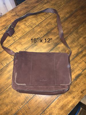Cole Haan Oxblood suede messenger bag for Sale in Gilbert, AZ