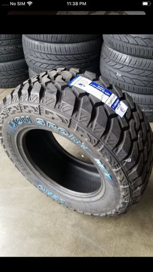 Mud terrain tires @wholesale prices --WE DELIVERY ONLY for Sale in Garden Grove, CA