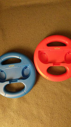 Nintendo Switch Joycon Racing Wheels for Sale in Salt Lake City, UT