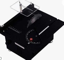Electric Mini Liftable Table Saw DIY Cutting Polishing Engraving Machine Precision Model Saw AC 100-240V for Sale in Tucson,  AZ