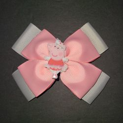 New Handmade Peppa Pig Ballerina Bow for Sale in Chesapeake, VA