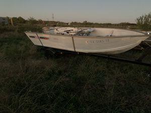 1989 Lowe 14' Aluminum Jon Boat for Sale in Midlothian, TX