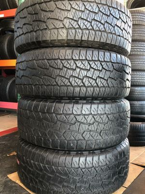 4 HANKOOK TIRES 275/55/20 for Sale in Anaheim, CA