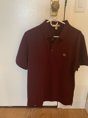 Men burberry polo shirt for Sale in Chicago, IL