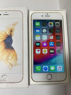 Unlocked iPhone 6S 16GB Gold with Box for Sale in San Jose, CA