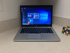 Nice & thin with lighted Keyboard i5 HP Elitebook Laptop (8 GB RAM, 256 GB SSD, windows 10 Pro, etc) for Sale in Tampa, FL