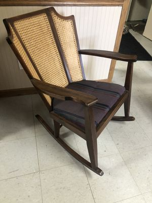 Vintage Walnut Rocking Chair For Sale for Sale in Eureka, IL