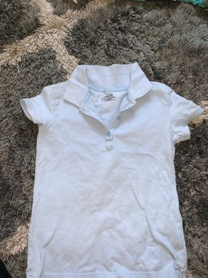Girls baby blue uniform shirt size 7/8 for Sale in Antioch, CA