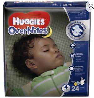 Huggies OverNites Size 4 for Sale in Philadelphia, PA