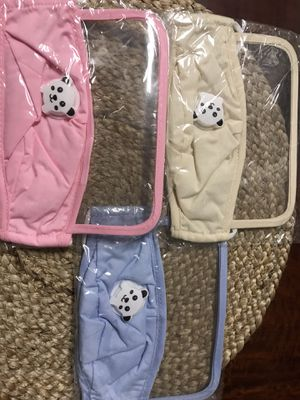 Children's 2-in-1 face mask with eye mask and dust-proof full face mask for Sale in Chino Hills, CA