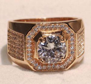 New 18 k rose gold men wedding ring men wedding band for Sale in Orlando, FL