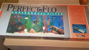 PERFECTaFlo (under gravel filter) for Sale in Elyria, OH