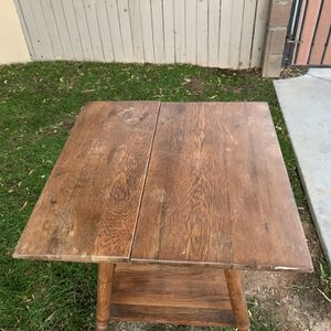 Free Vintage Table , Needs Work Has Crack for Sale in Glendale, AZ