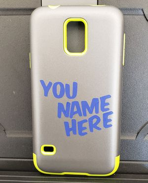 Vinyl,engraving,wood burning sticker cell cases for Sale in Nicholasville, KY