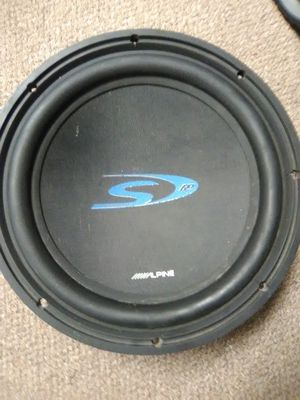 12' subwoofer Alpine for Sale in Lacey Township, NJ