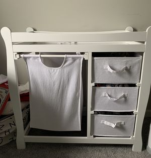 Baby changing table for Sale in Bethany, CT