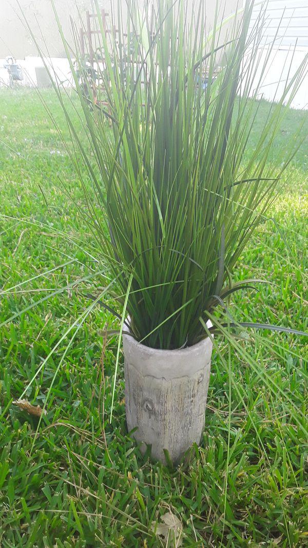 Fake plant heavy pot