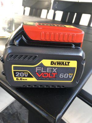 DeWalt FLEXVOLT 6.0ah Battery for Sale in Azusa, CA