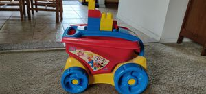 Mega blocks fill and dump wagon with blocks for Sale in Diamond Bar, CA