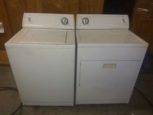 Perfect Working Whirpool Washer & Dryer With 90 Day's Warranty for Sale in Dallas, TX