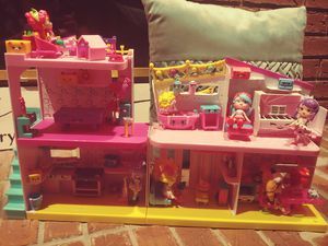 Shopkins home with accessories for Sale in Orange City, FL