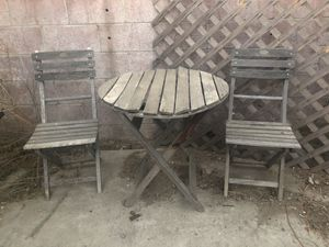 Free bistro set for Sale in Bloomington, CA