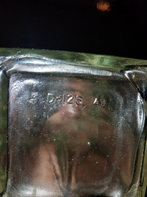 Four Rose's antique bottle