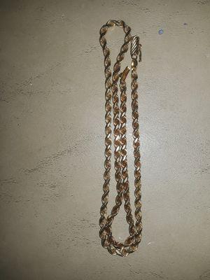 Oroamerica 14k Gold rope for Sale in Santa Clara, CA