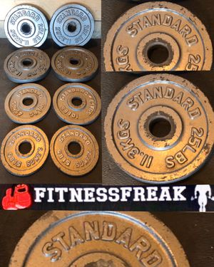 130 lb Olympic weight set for Sale in El Cajon, CA