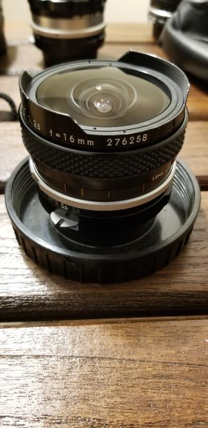 Nikon Nikkor lenses assorted (16mm fisheye included) for Sale in Bowie, MD