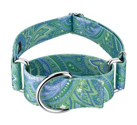 """Paisley Martingale Dog Collar. 2"""" wide for large dogs. $15. Pickup near Georgia Tech. for Sale in Atlanta,  GA"""