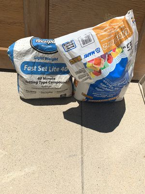 Setting compound and tile mortar for Sale in Los Angeles, CA