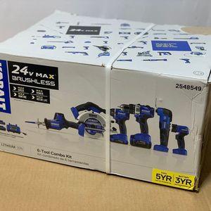 Kobalt 24V Max Brushless 6-Tool Combo Ki for Sale in Dania Beach, FL