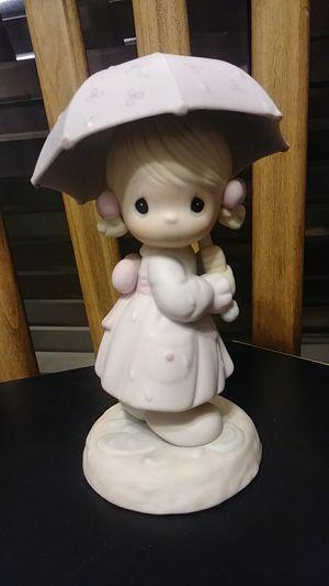 """Precious moments """"April"""" figurine-10027 enesco 1987 Ritired for Sale in Bassett, CA"""