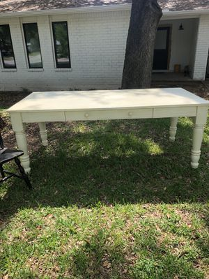 Pottery Barn Dining table & Restorations Hardware chairs for Sale in Austin, TX