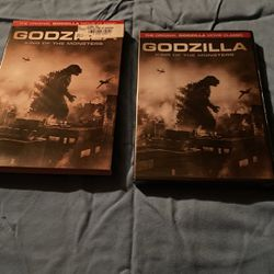 Godzilla King of the Monsters Brand New OOP DVD RARE WITH SLIPCOVER SUPER RARE for Sale in West Sacramento,  CA