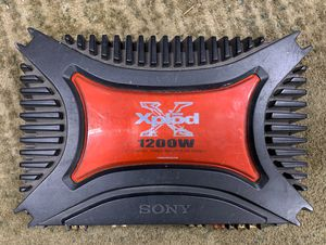Sony xplod 1200w amp for Sale in House Springs, MO