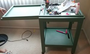 Green wooden kitchen table for Sale in Woodlake, CA