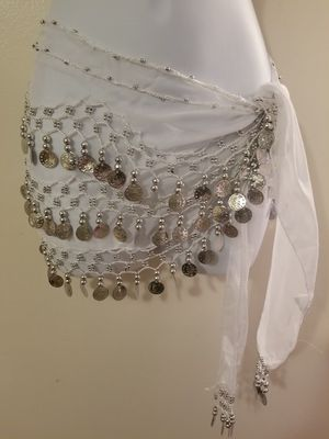 New white belly dancing skirt for Sale in Tampa, FL