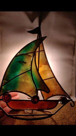 Handmade Sailboat Lamp for Sale in San Antonio, TX