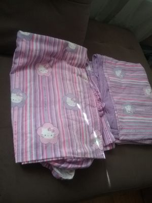 Hello Kitty twin Flannel sheets for Sale in Queens, NY