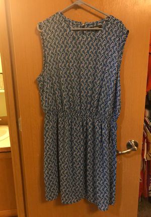 Blue/ Patterned dress for Sale in Roy, WA
