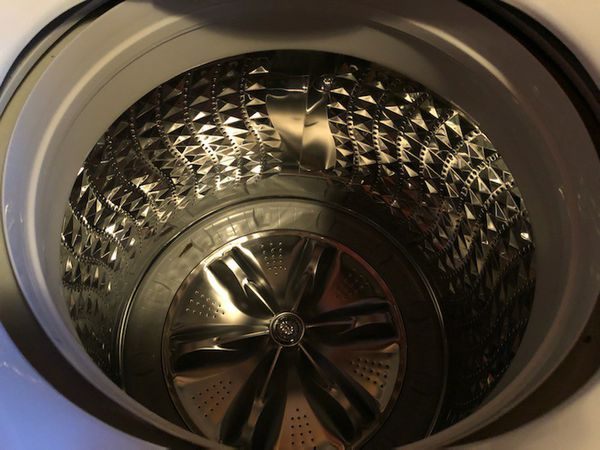 Samsung Glass top loader washer