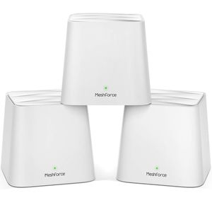 *Brand New* Meshforce Whole Home Mesh WiFi System (3 Pack), Dual Band AC1200 Router for Seamless & High Performance Wireless Coverage up to 6+ Bedroom for Sale in San Jose, CA