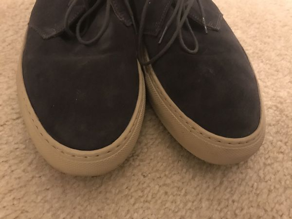 Common Projects leather suede dark purple (size 10, 43)