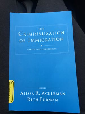 Criminalization of immigration for Sale in Tacoma, WA