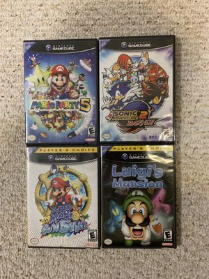 4 GameCube games for Sale in Fairfax, VA