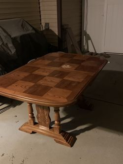 Solid Oak Wood Table for Sale in West Jordan,  UT