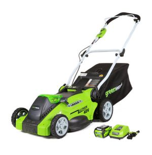 Greenworks 16-inch 40V cordless lawn mower, 4.0 AH battery included 25322 for Sale in Austin, TX